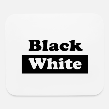 Black And White Black and White - Mouse Pad