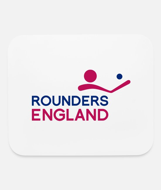 Rounders Mouse Pads - Round England - Mouse Pad white