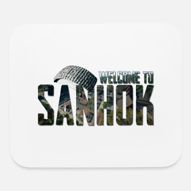 Online welcome to sanhok - Mouse Pad