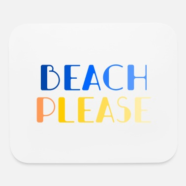 For Him colorful beach logo - Mouse Pad