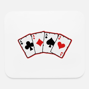 Cards cards - Mouse Pad