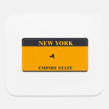 License Plate New York License Plate - Mouse Pad