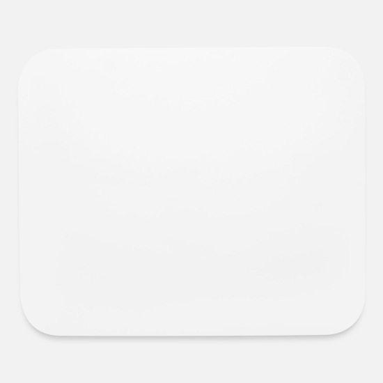 No Mouse Pads - Warning No Idea - Mouse Pad white