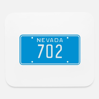 License Plate 702 Nevada License Plate - Mouse Pad