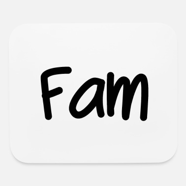 Family Drinkware Fam - Mouse Pad