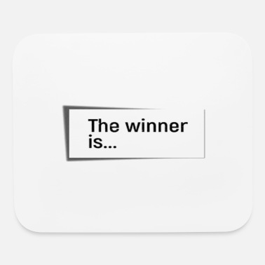 Winner THE WINNER IS... - Mouse Pad