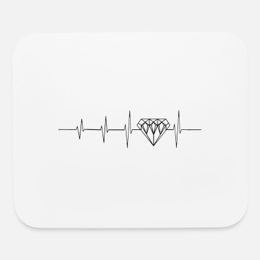 Luxury Heartbeat for luxury - Mouse Pad