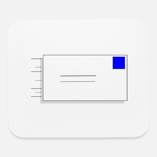 Mail Mouse Pads - Email envelope - Mouse Pad white