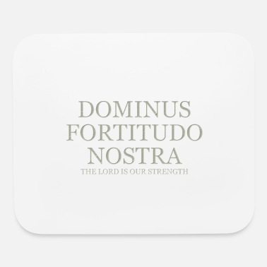 The Lord Is Our Strength - Light - Mouse Pad