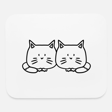 Sibling 2 brothers sibling sisters twins friends team coup - Mouse Pad