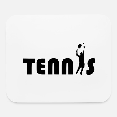 Tennis Game tennis game - Mouse Pad