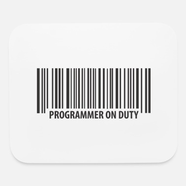 Duty programmer on duty - Mouse Pad