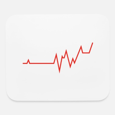 Heart Rate heart rate 2 - Mouse Pad