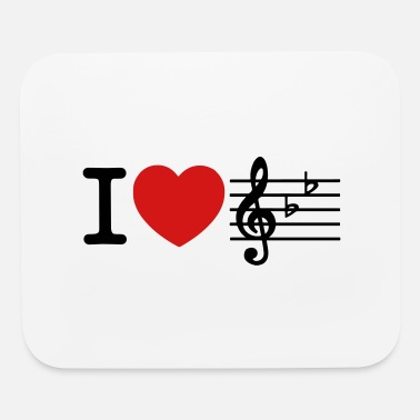 Love I Love Music - Mouse Pad