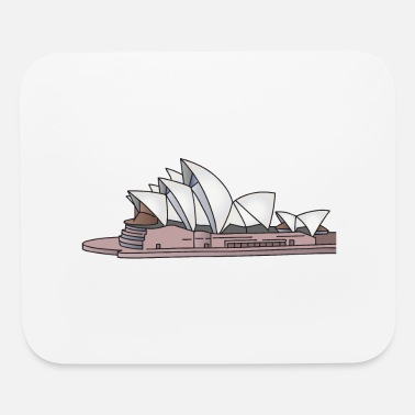 Roof Sydney Opera House - Mouse Pad