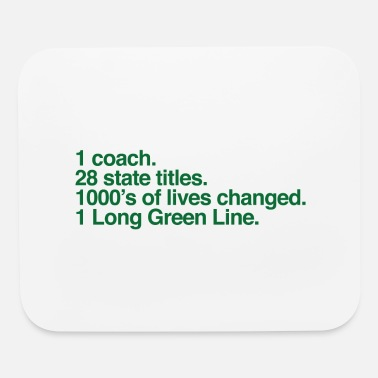 Base Line The Long Green Line #'s - Mouse Pad