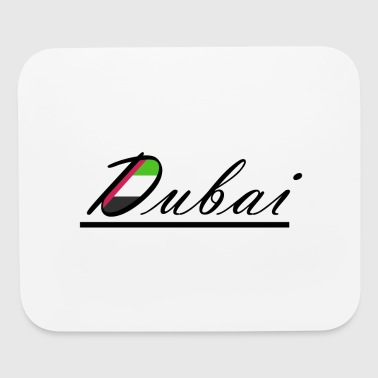 Dubai flag - Mouse pad Horizontal
