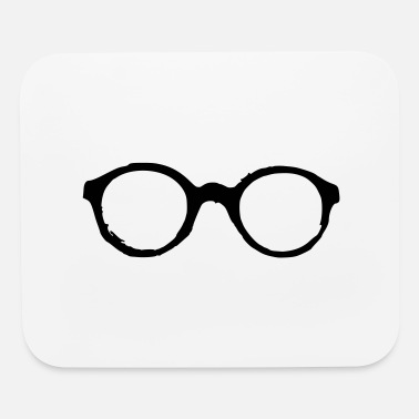 glasses - Mouse Pad