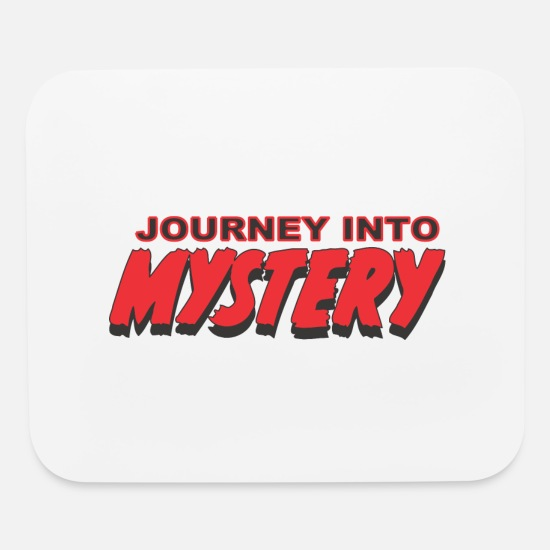 Birthday Mouse Pads - Journey Into Mystery - Mouse Pad white