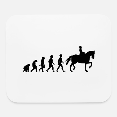 Equitation Evolution Horses Riding Harness Racing Equitation - Mouse Pad