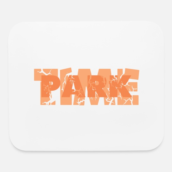 Parks Mouse Pads - Park Time - Mouse Pad white