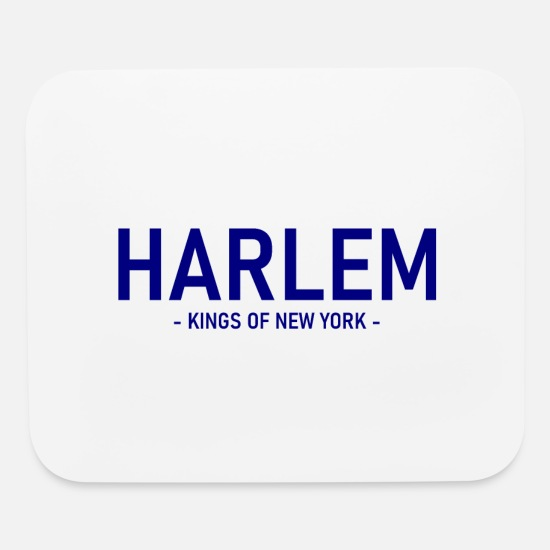 New York Mouse Pads - Harlem - NYC - New York - Uptown Manhattan - Mouse Pad white