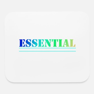 Stencil Colorful Essential Workers Rule 2 - Mouse Pad