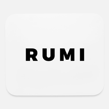 Rumi Rumi (Black/White Border) - Mouse Pad