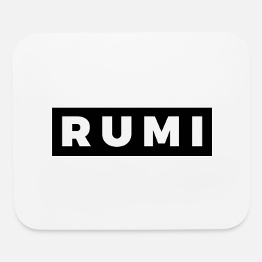 Rumi Rumi (White/Black Border) - Mouse Pad