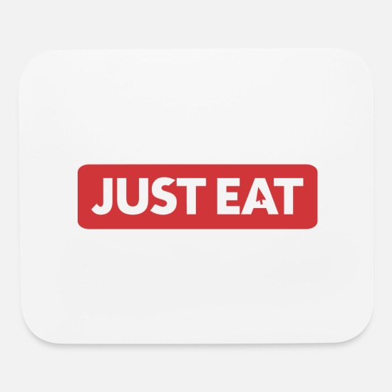 Birthday Mouse Pads - Just Eat - Mouse Pad white
