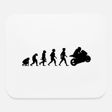 Bike Evolution Superbikes Motocross Motorcycles Biker - Mouse Pad