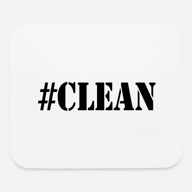 Clean #CLEAN - Mouse Pad