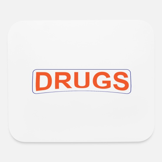 Drug Mouse Pads - DRUGS 2 - Mouse Pad white