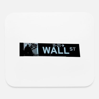 Wall Street wall street - Mouse Pad