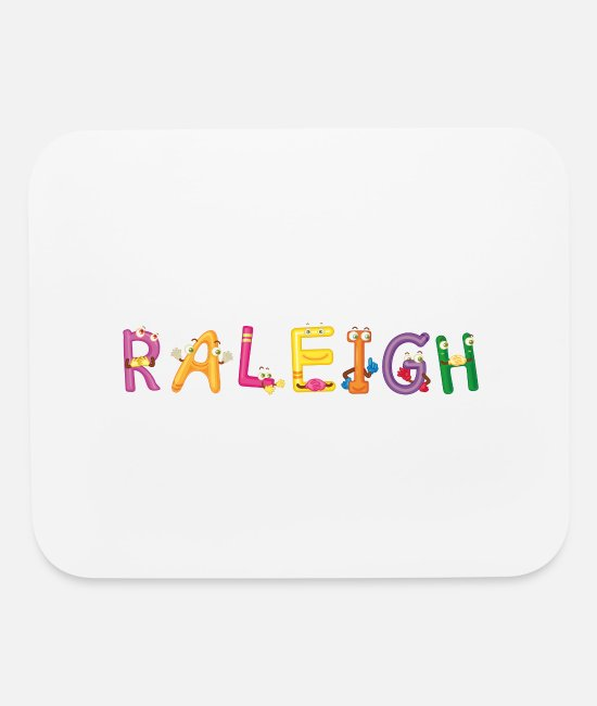 Raleigh Birthday Mouse Pads - Raleigh - Mouse Pad white