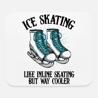 Ice ice skating - Mouse Pad
