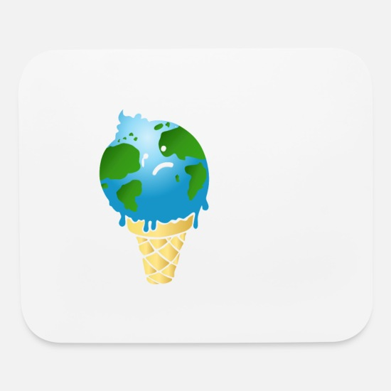 Climate Mouse Pads - Climate Change is Real. - Mouse Pad white