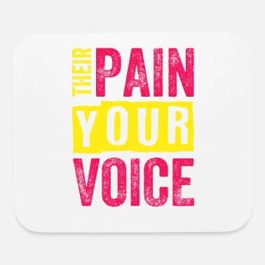 Animal Rights Activists Animal Rights Activist Their Pain Your Voice - Mouse Pad