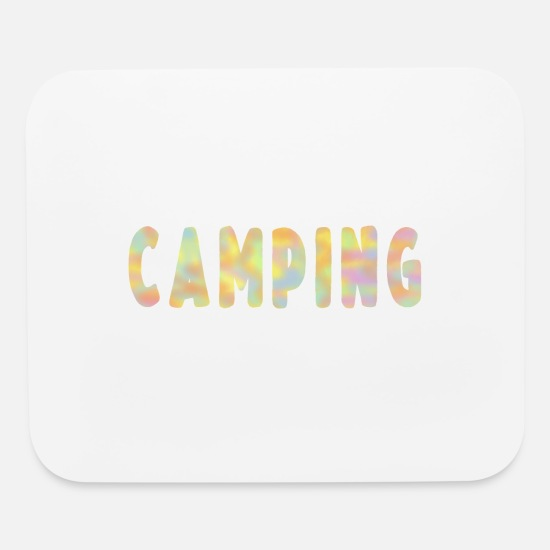Gift Idea Mouse Pads - Camping Travel Pathfinder Caravan Gift - Mouse Pad white