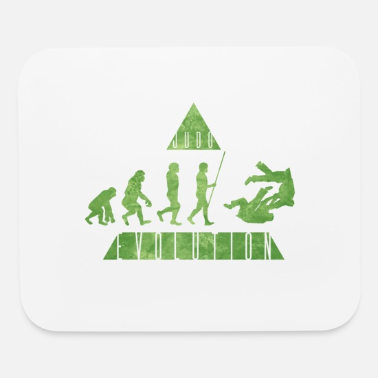Shaolin Mouse Pads - Judo Evolution - Mouse Pad white