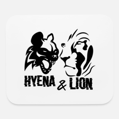 Hyenas leon and hyenas - Mouse Pad