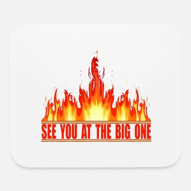 Fire Morrison Handshake Fire - Mouse Pad
