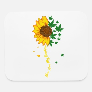 Recreation Sunflower Marijuana Cannabis Stoner Weed - Mouse Pad