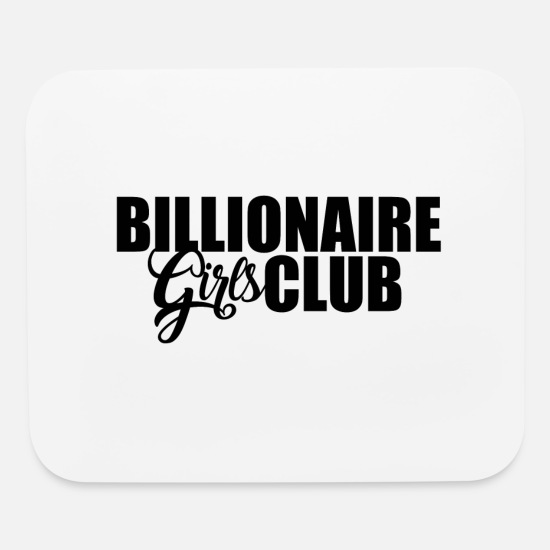 Love Mouse Pads - Kopie von #1 BILLIONAIRE GIRLS CLUB 2 - Mouse Pad white