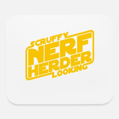 Herder Scruffy Looking Nerf Herder - Mouse Pad