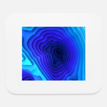 Groove Abstract Deep Sea Surface - Mouse Pad
