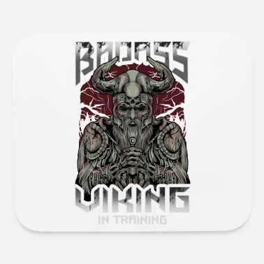 Ghastly Badass Viking In Training - Mouse Pad