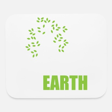Girlfriend Love Earth - Use Renewable Energy - Mouse Pad