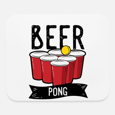 Beer Drinking Beer Pong Team Drinking Game Friends - Mouse Pad