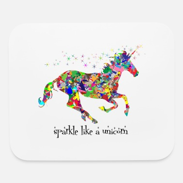 Sparkle sparkle like a unicorn (colorful) - Mouse Pad